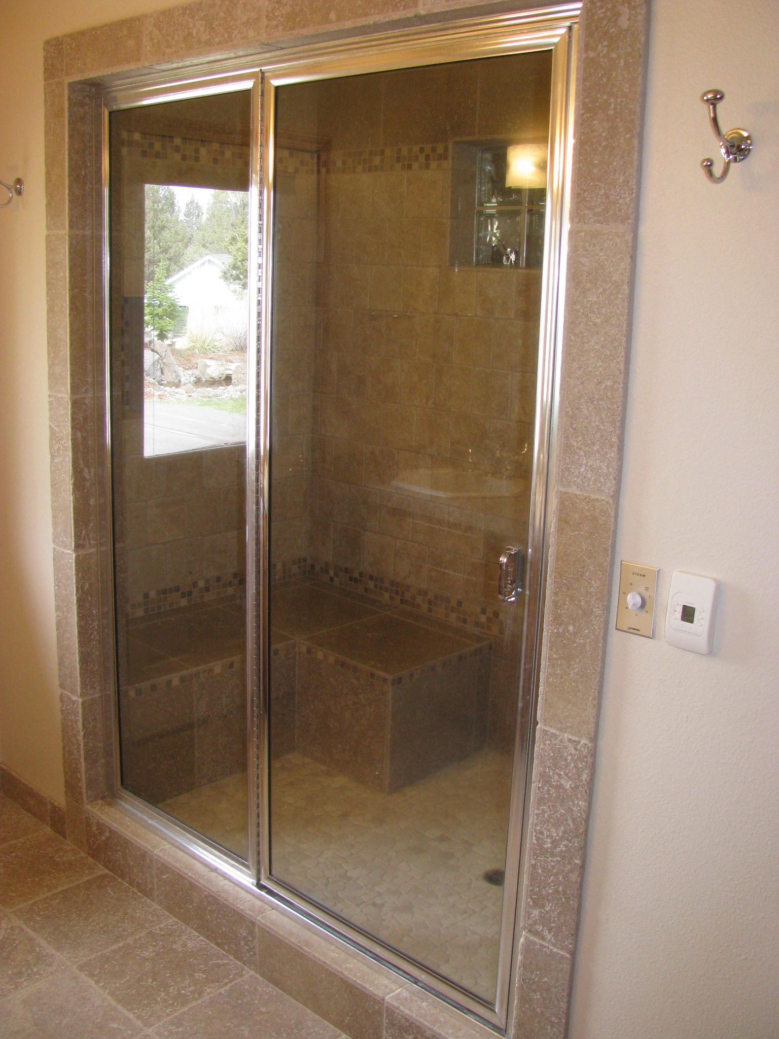 Captivating Shower And Steam Room