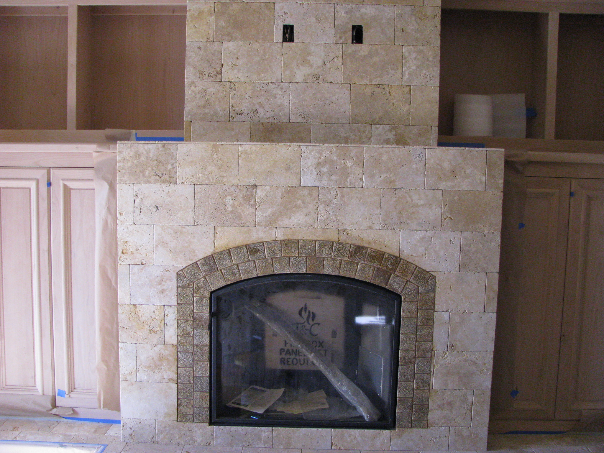 Fireplaces Tile Bend Oregon Brian Stephens Tile Inc