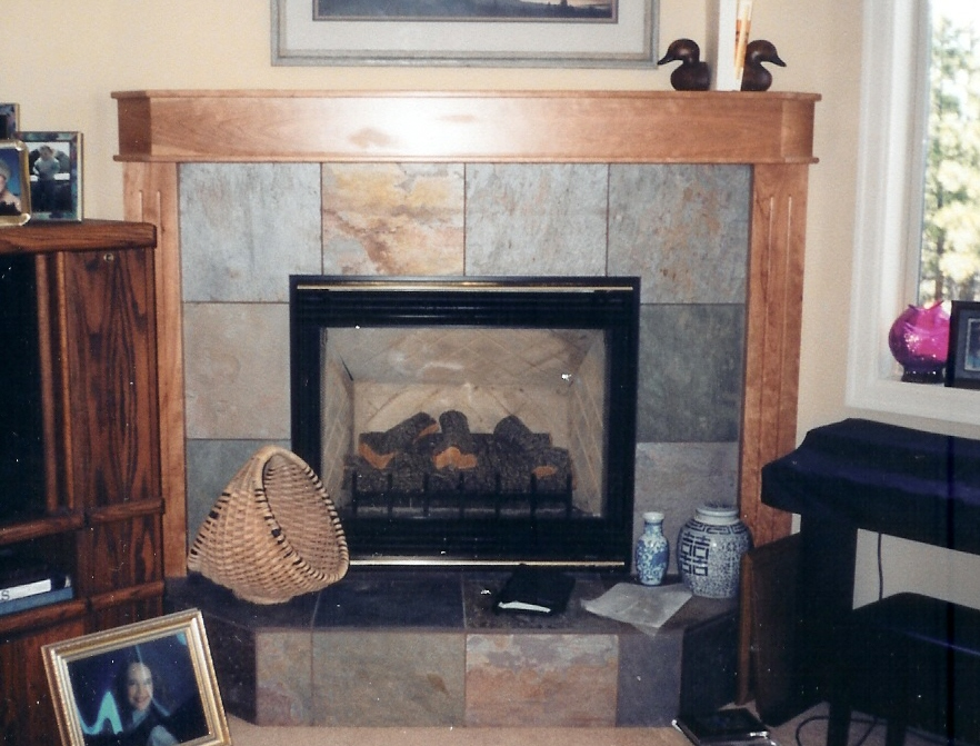 Fireplaces Tile Bend Oregon Brian Stephens Tile Inc